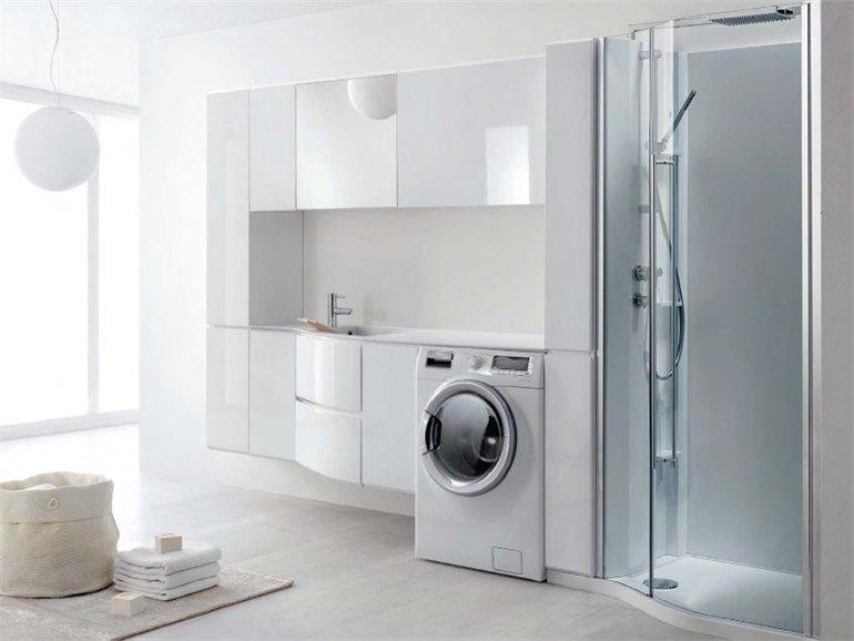 Arredo bagno cerca con google bagno pinterest for Arredo bagno con lavatrice