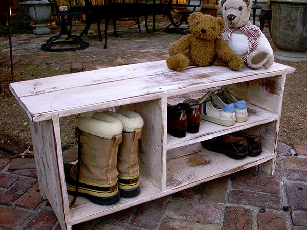 Outside Shoe Storage Bench 32 Superb Shoe Storage Ideas