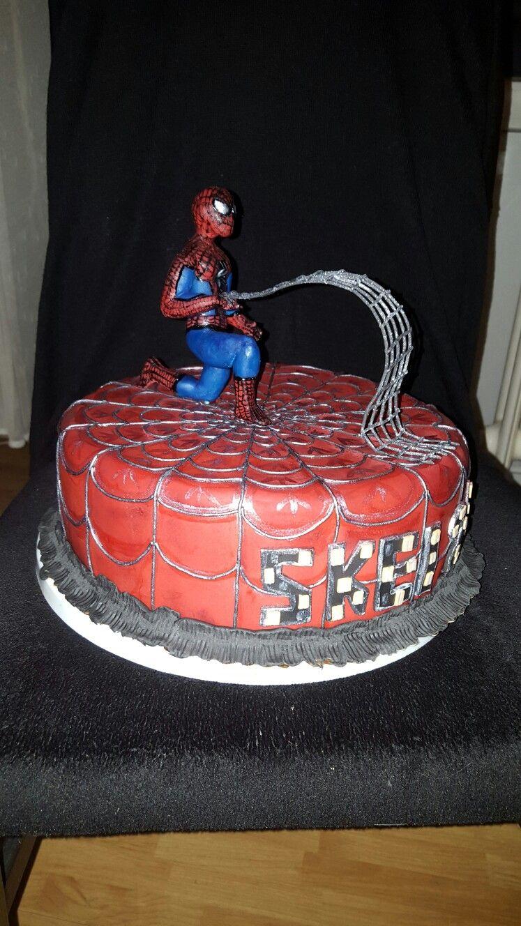 Spiderman Torte Motivtorten Mein Schönstes Hobby