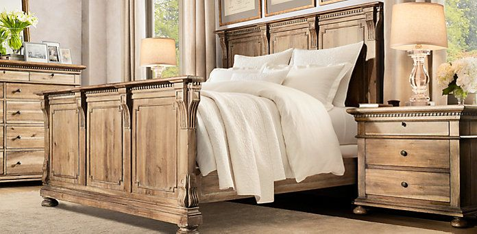 St. James | Restoration Hardware... sort of matches the bedroom set ...
