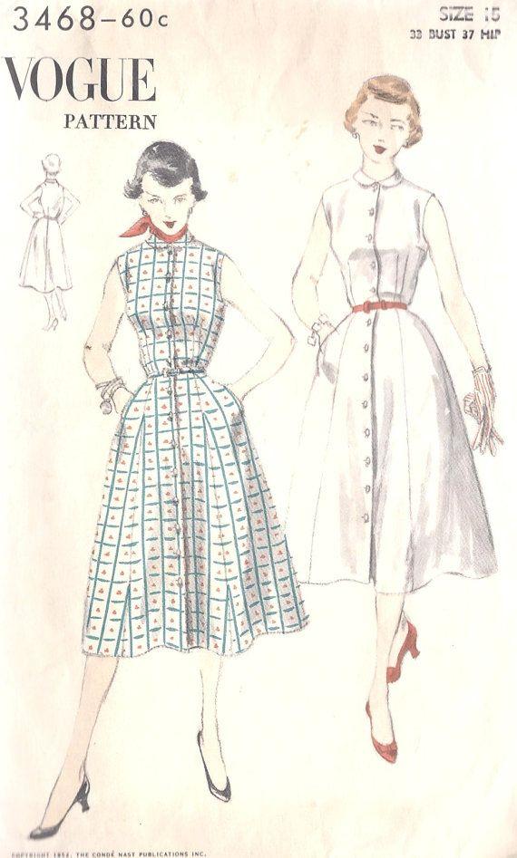 b9273bb3193 1950s Summer Rockabilly Dress Misses Vintage by MissBettysAttic