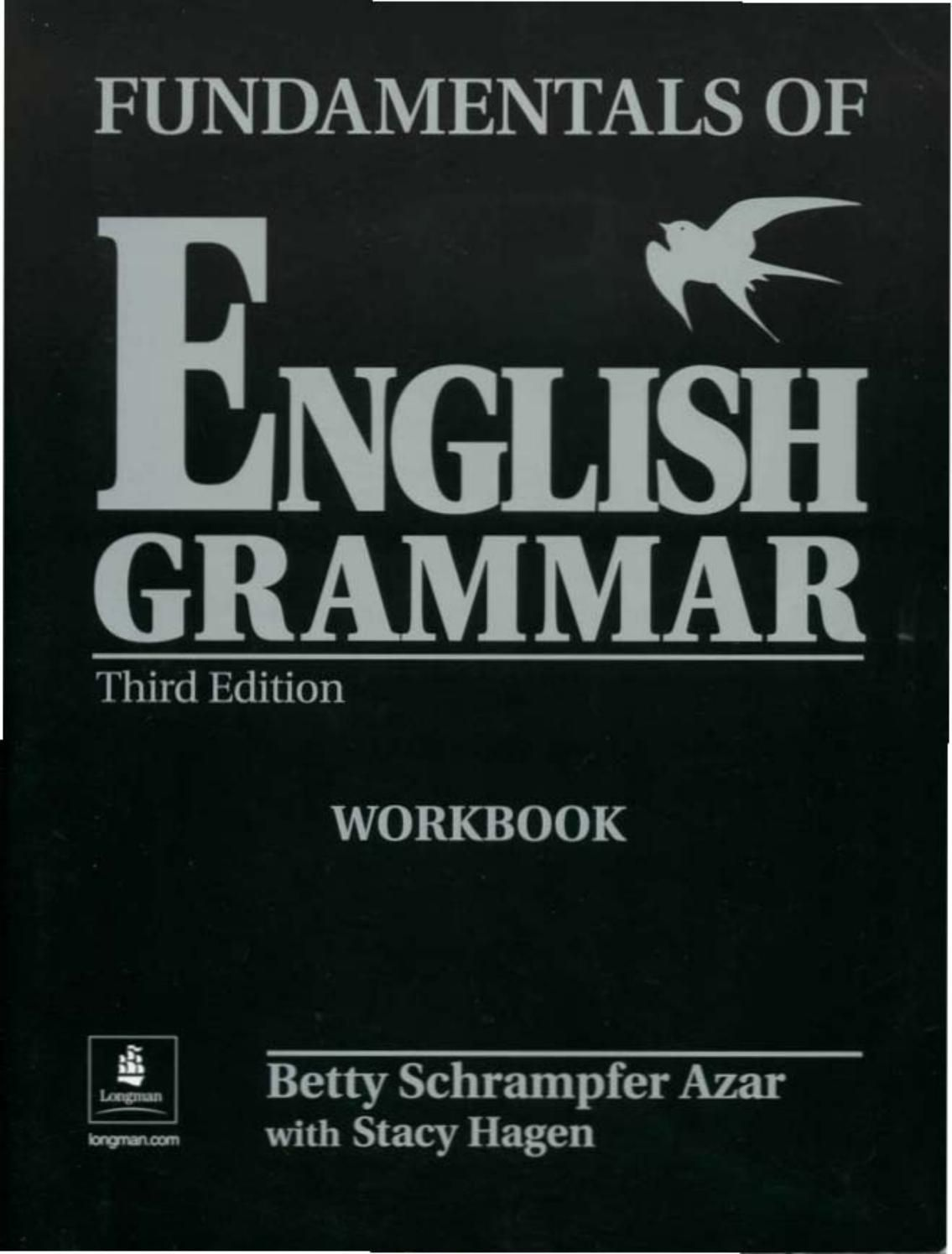 Azar Fundamentals Of English Grammar 3 Ed Workbook