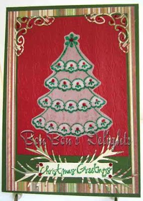 Sweet Stamps 7/17/12 Christmas Parchment Challenge; DT Bonnie