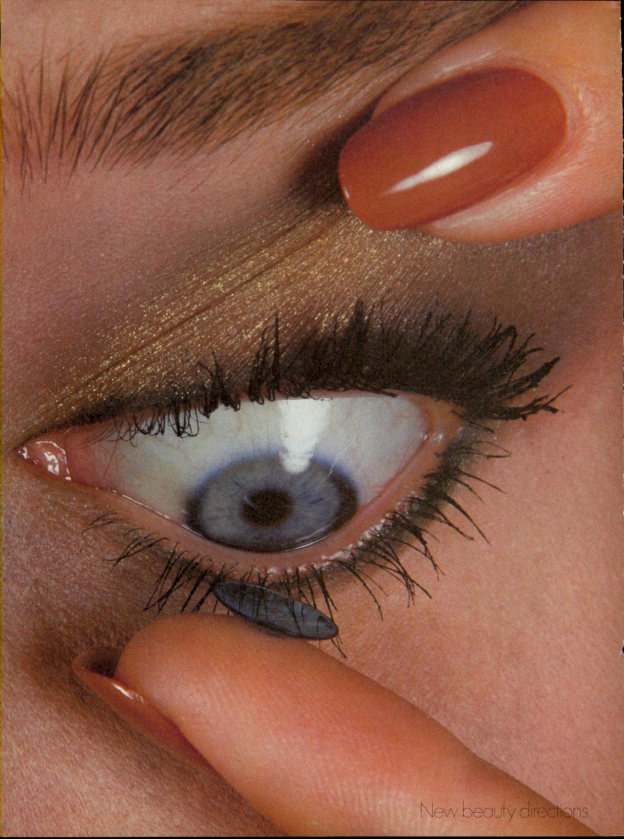 "Kelly LeBrock in ""New Direction in Beauty"" by Irving Penn"