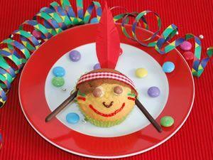 Indischer Muffin   - Kinderparty -