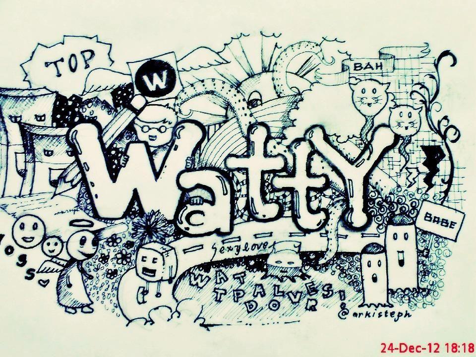 Doodling away ...