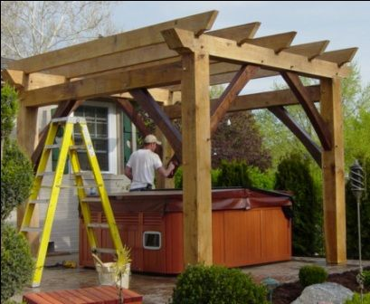 Timber Frame Pergolas, Timber Frame Porches & Pavilions, Custom Timber  Pergola, Timber Porch - Timber Frame Pergolas, Timber Frame Porches & Pavilions, Custom