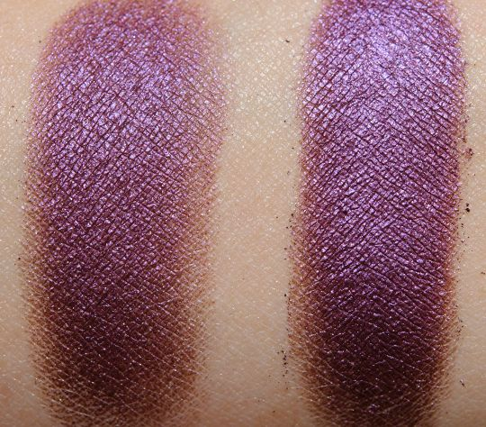 MAC Grape pigment swatch
