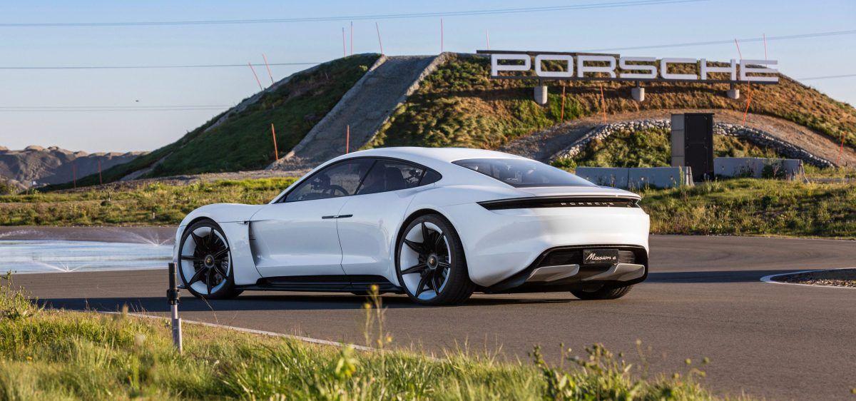 Porsche's Mission E allelectric vehicle the