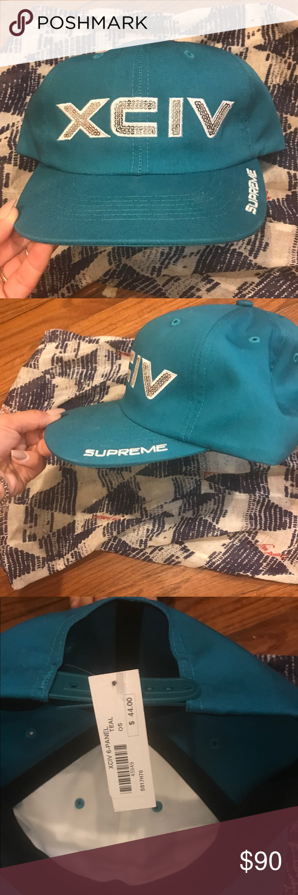 e94845fa876 Supreme snapback authentic NWT
