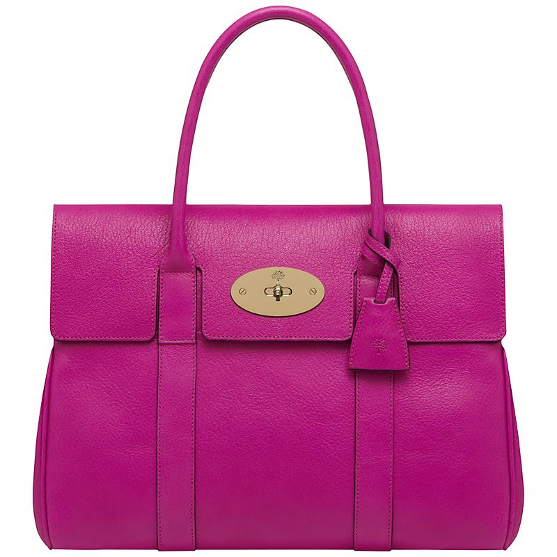 1100.00 Buy Mulberry Bayswater Grab Handbag in Mulberry Pink  8d2e948615b41