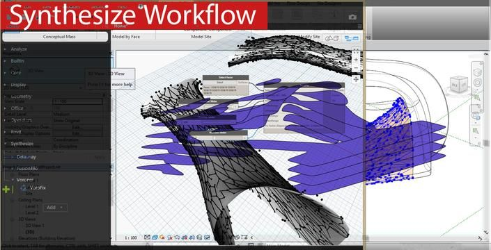 Synthesizing Workflow with Revit by Karam Baki