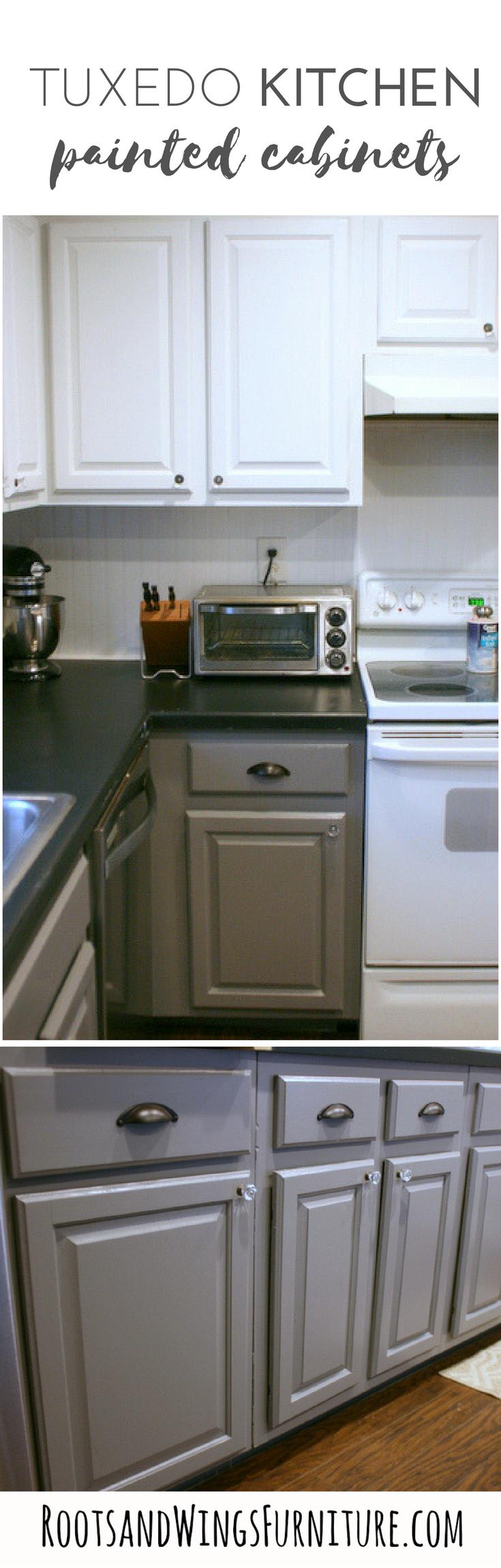 Tuxedo Kitchen Cabinet Makeover Kitchen Cabinets Makeover Finish Kitchen Cabinets Driftwood Kitchen