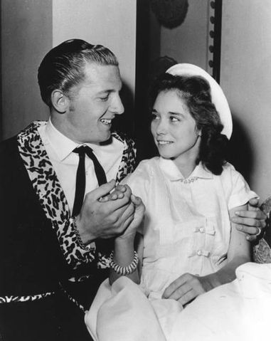 jerry lee lewis and myra gale brown myra being 13 at the