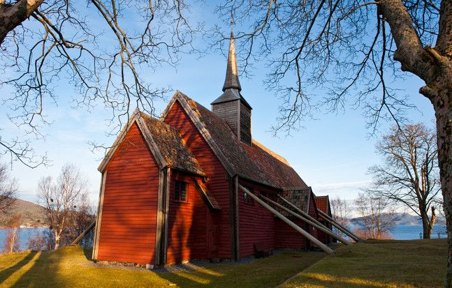 Kvernes stavkirke, Norway