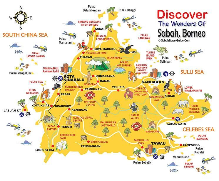Sabah Borneo  Malaysia is estimated to contain 20 per cent of