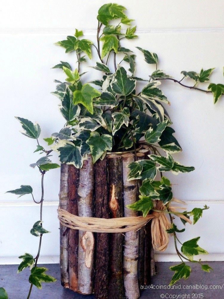 cache pot pour un petit lierre aux 4 coins du nid diy. Black Bedroom Furniture Sets. Home Design Ideas