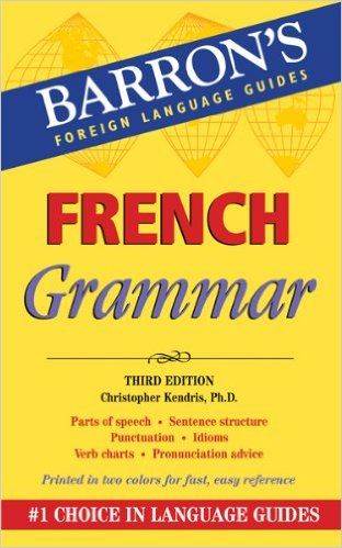 Amazon.com: French Grammar (Barron's Foriegn Language Guides) (9780764145957)…