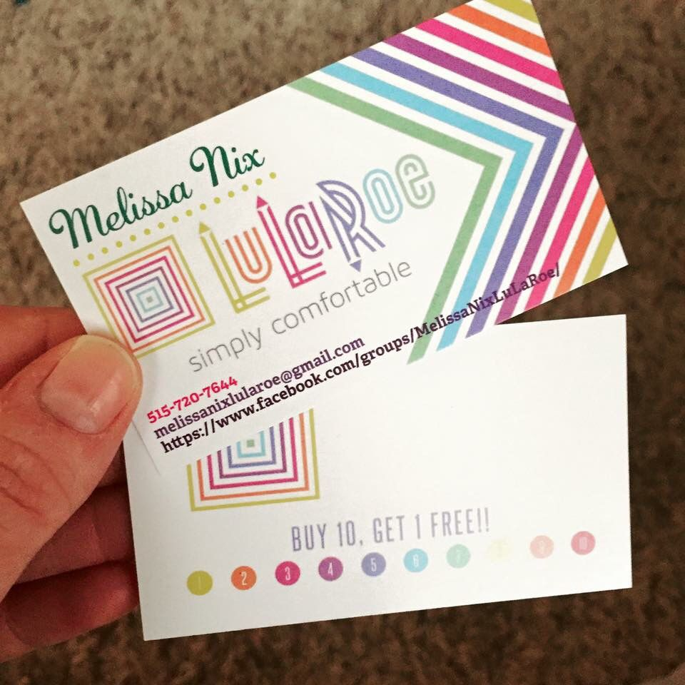 Business cards from Vista print!! https://www.facebook.com/groups ...