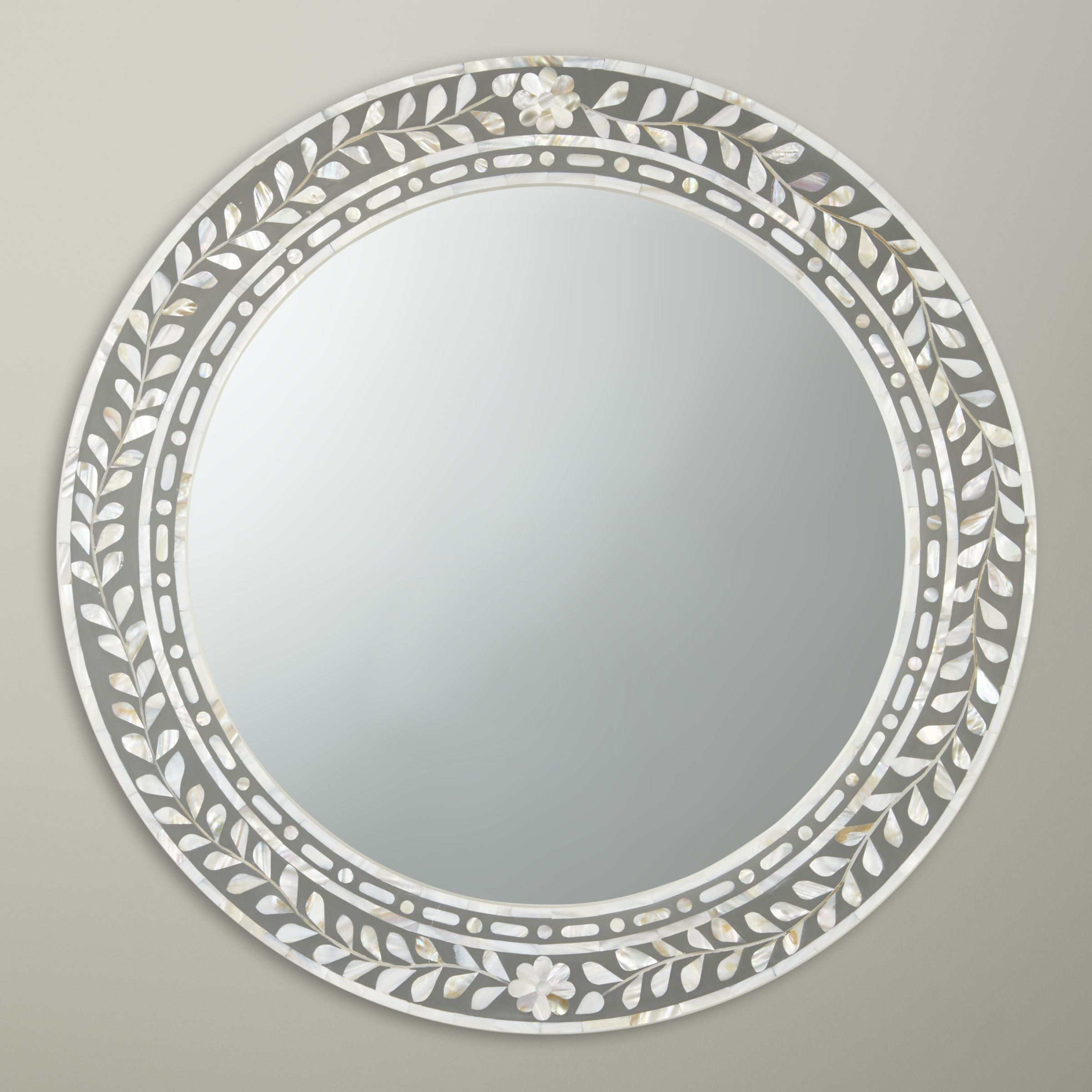 Pearl Round Mirror