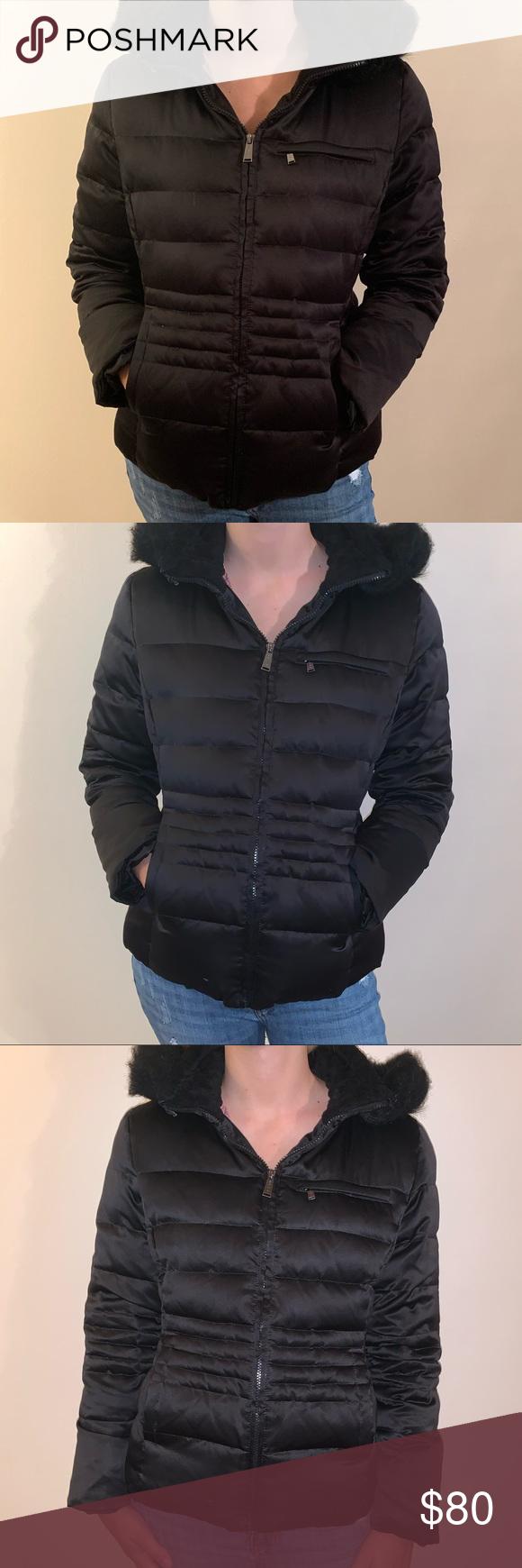 Dkny Black Puffer Coat Black Puffer Coat Puffer Coat Beautiful Coat [ 1740 x 580 Pixel ]