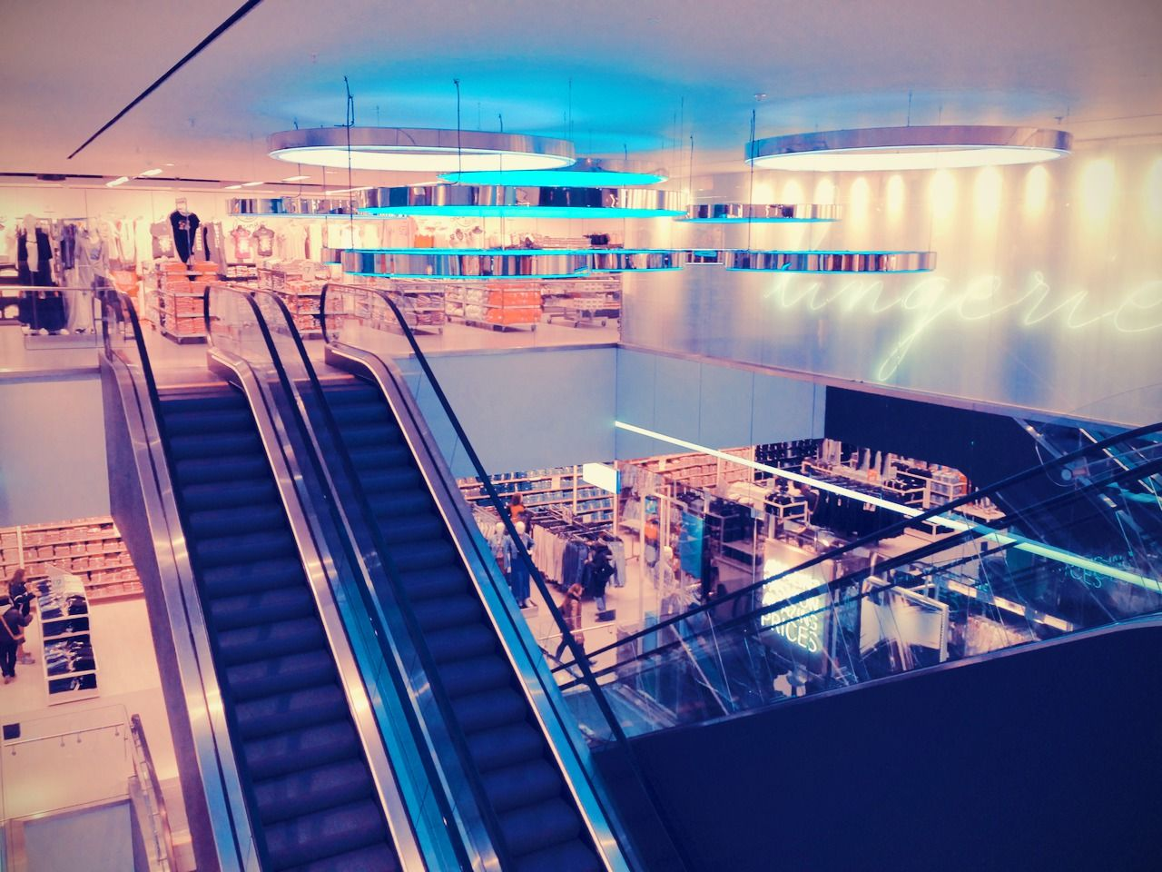top floor at the #London #TottenhamCourtRoad flagship store #primarkUK