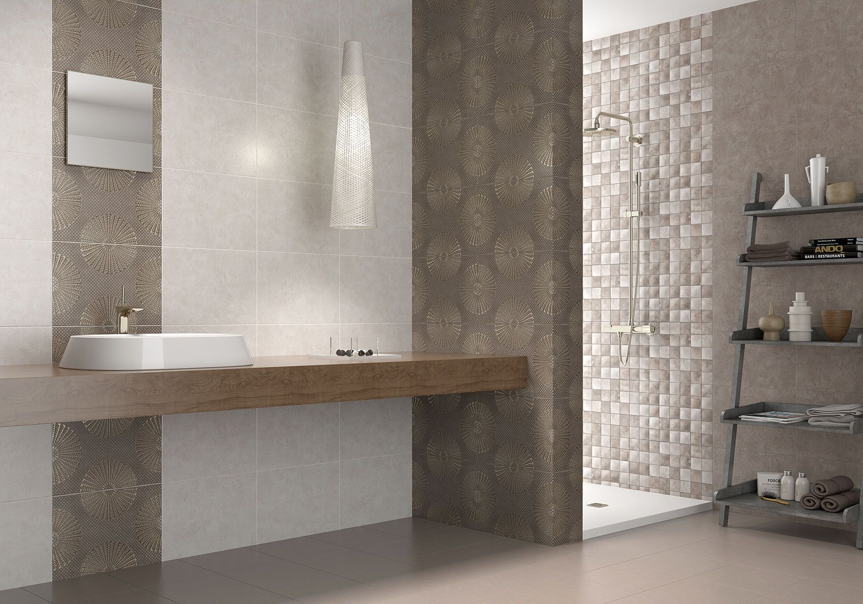 Gres Baños Klim 31 6x45 2 Red Body Wall Tiles Bathroom Baño