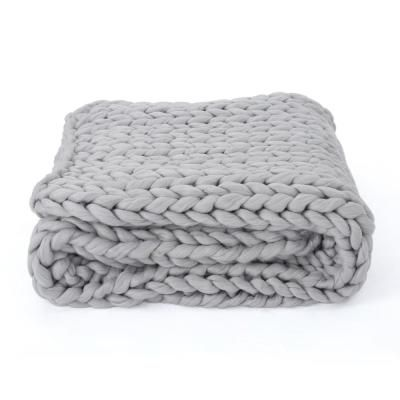Perfect for keeping warm just about anywhere, these throw covers can also add a nice decorative element to your couch, bench or armchair. Precision woven for maximum durability. A purchase you won't regret. Color: Grey.