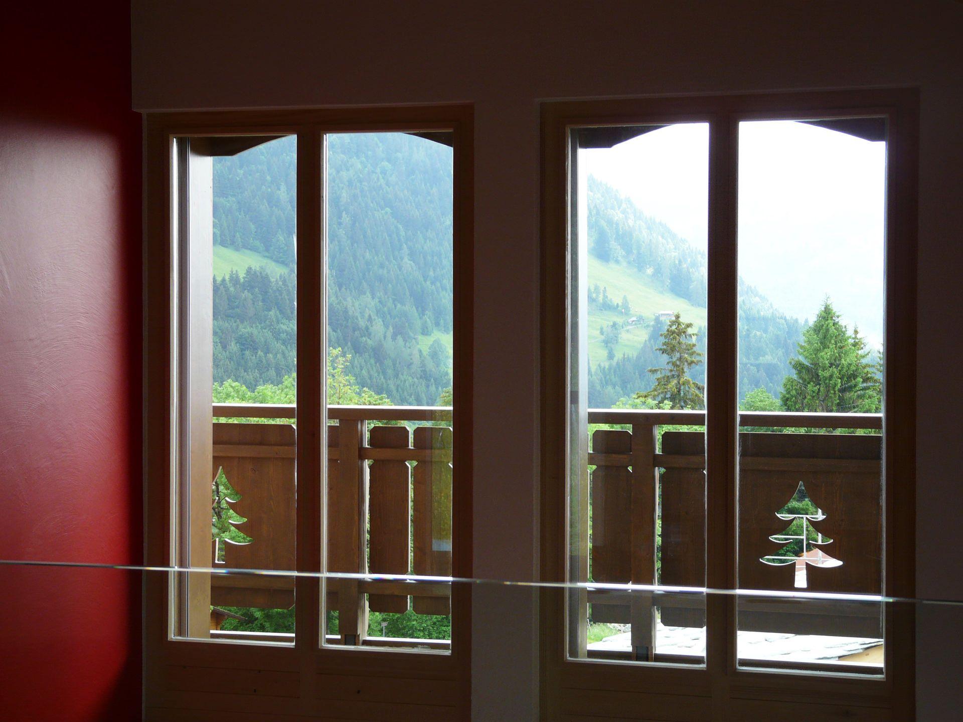 Swiss bureau interior design designed chalet villars villars
