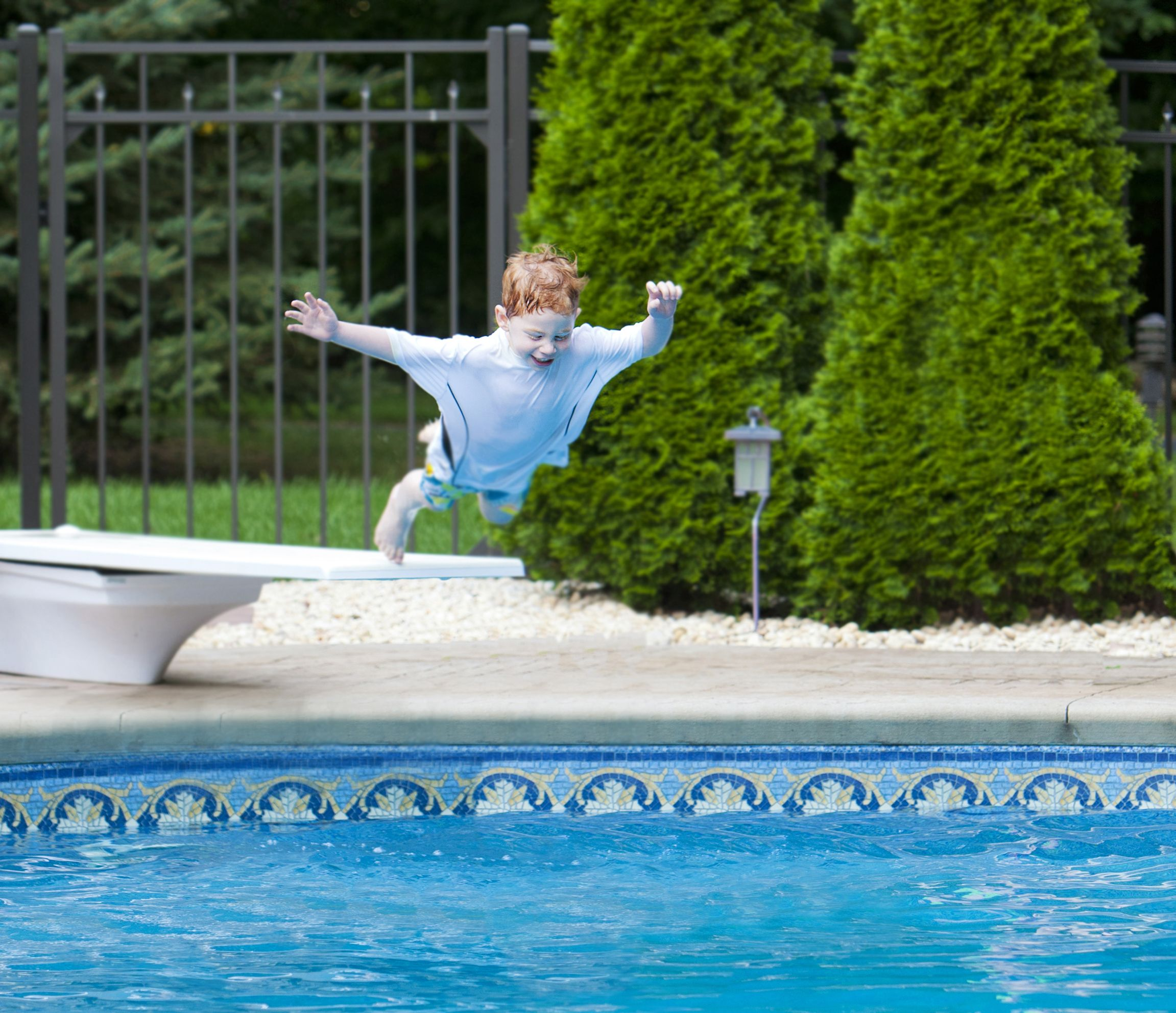 Does your insurance cover injuries caused by diving boards