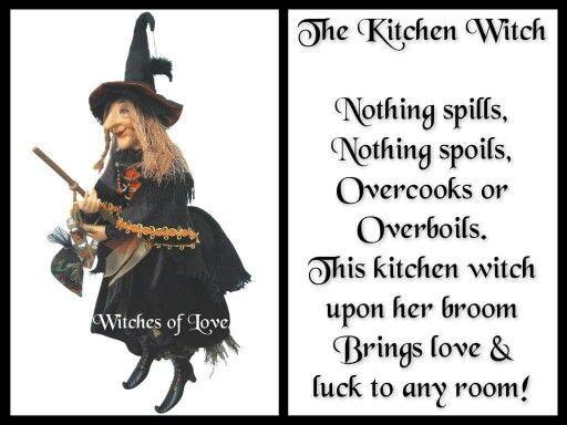 Kitchen Witch Poem Kitchen Witch Witch Alter Kitchen