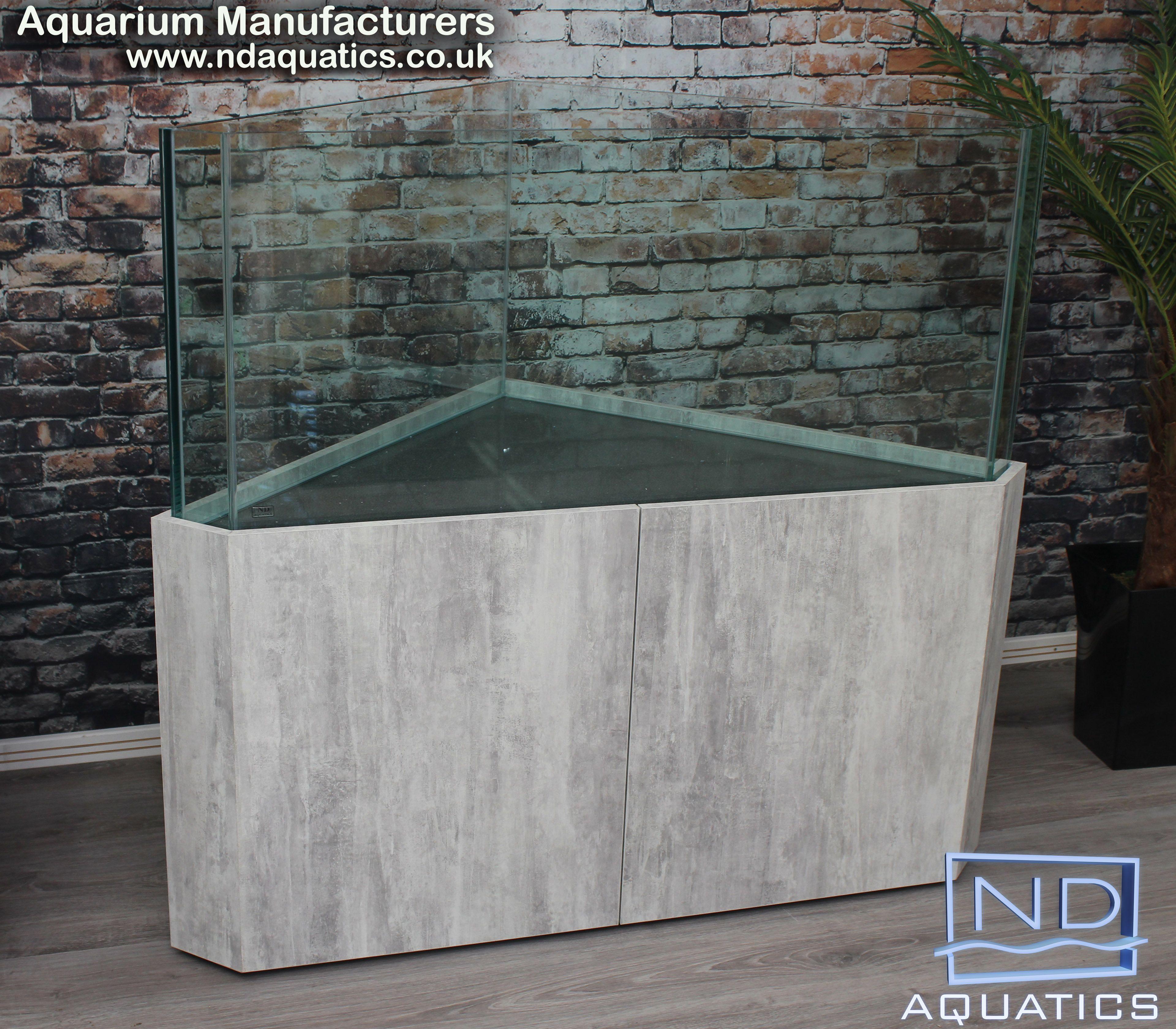 Braceless Rimless Corner Tropical Fish Tank Made By Nd Aquatics Ltd Www Ndaquatics Co Uk Tropical Fish Tanks Custom Aquarium Fish Tank