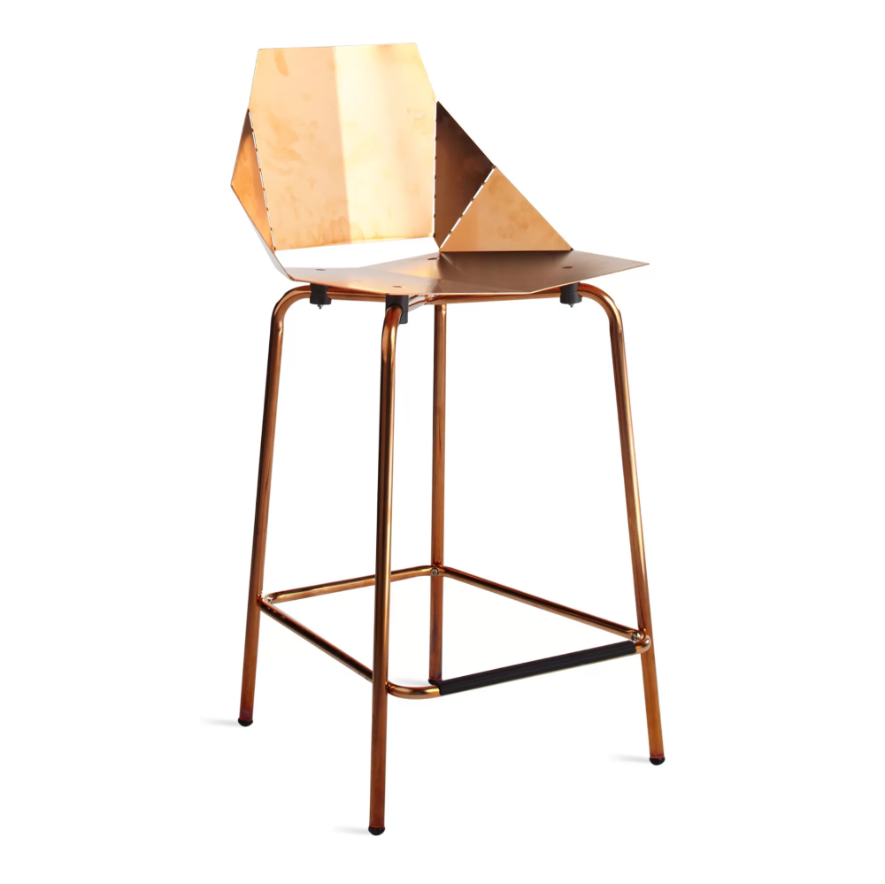 Real Good Counter Stool Copper In 2020 Counter Stools Stool Modern Counter Stools