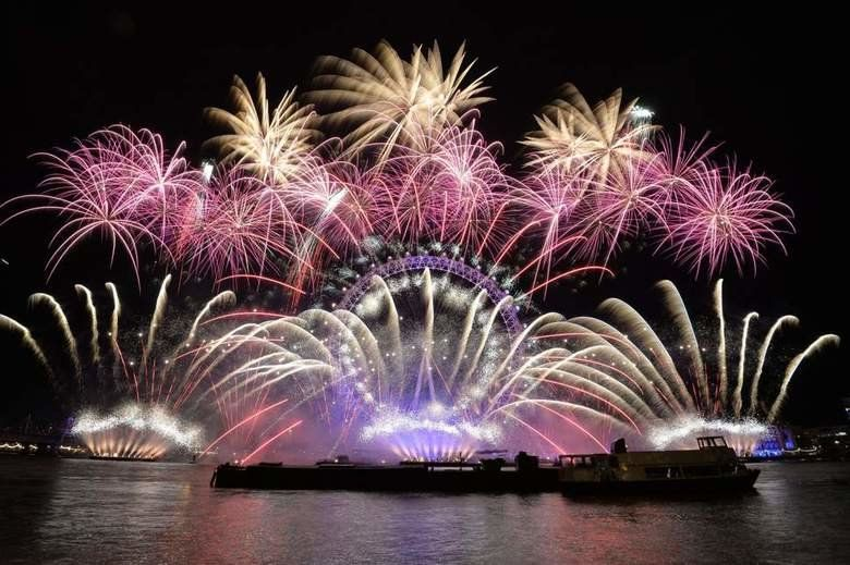 London gears up for sellout New Year's Eve firework