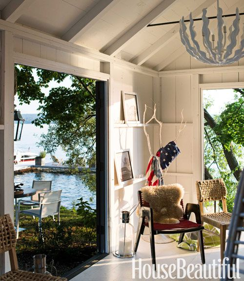beach cottage decor.htm thom filicia s lake house  with images  small lake houses  house  thom filicia s lake house  with images
