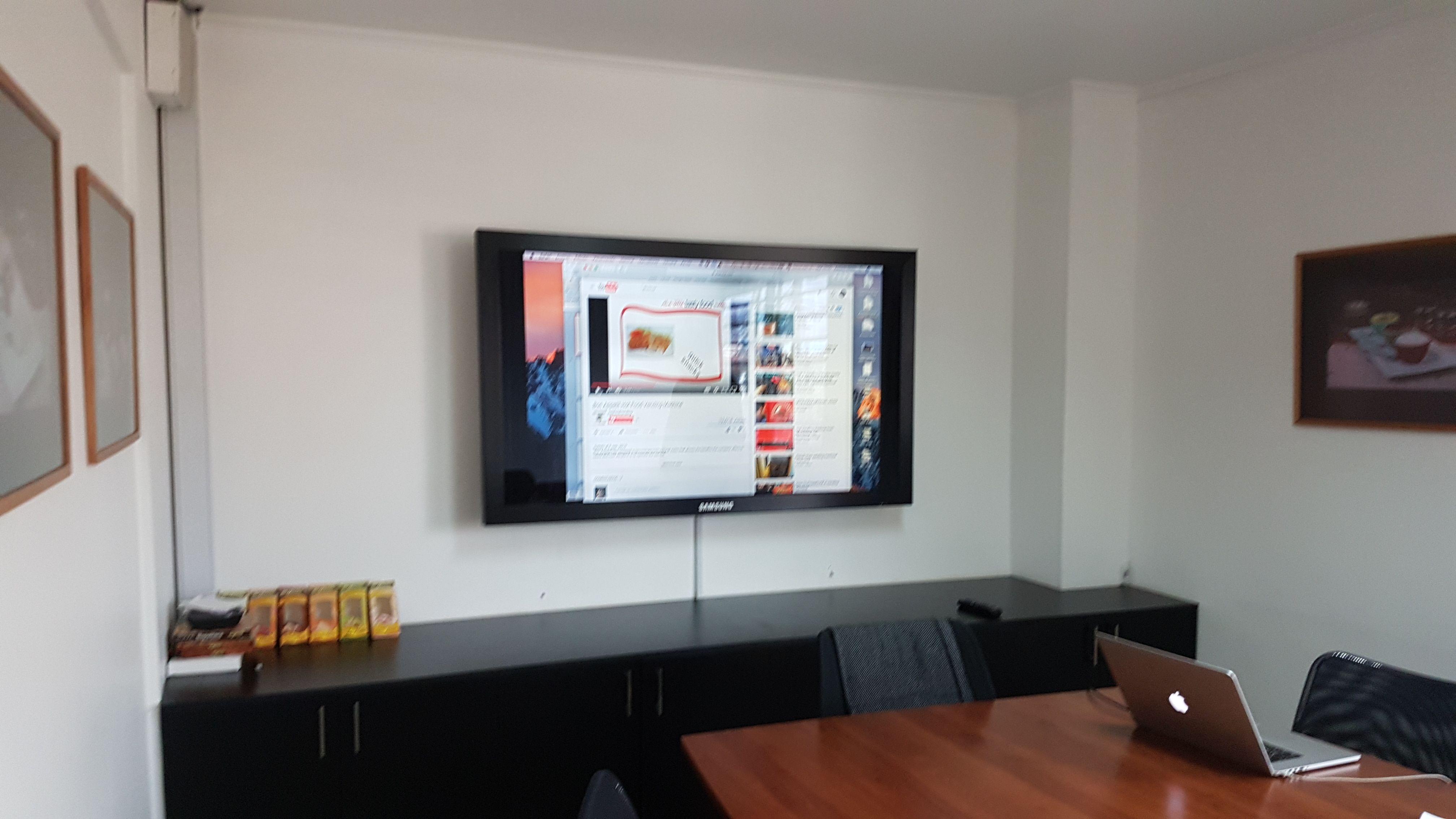 Televisor De 42 Bandeja Doble Para Decodificador Y Blu Ray  # Muebles Jireh Bogota