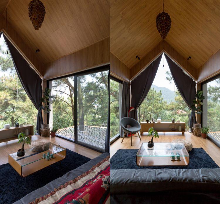 holz an der wand deckengestaltung idee Architektur Pinterest - Ideen Fur Deckengestaltung