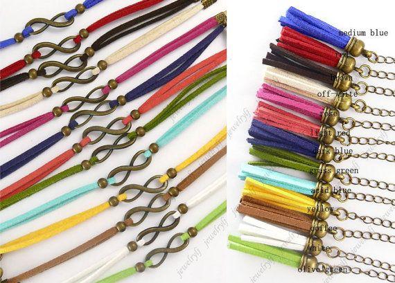 Infinity Wish BraceletInfinity BraceletAntique Brass by jewelrylj, $1.98