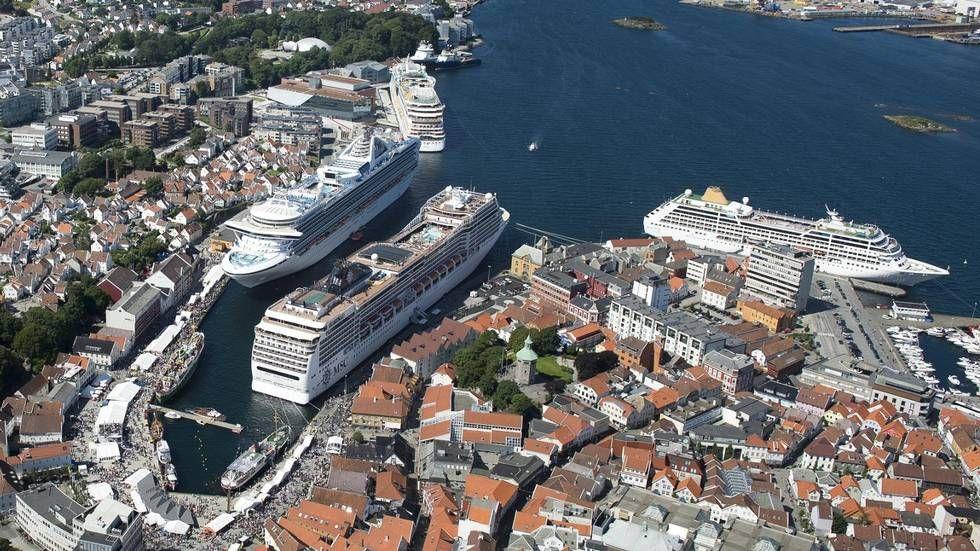 Cruiseturister er minst lønnsomme - Aftenbladet.no