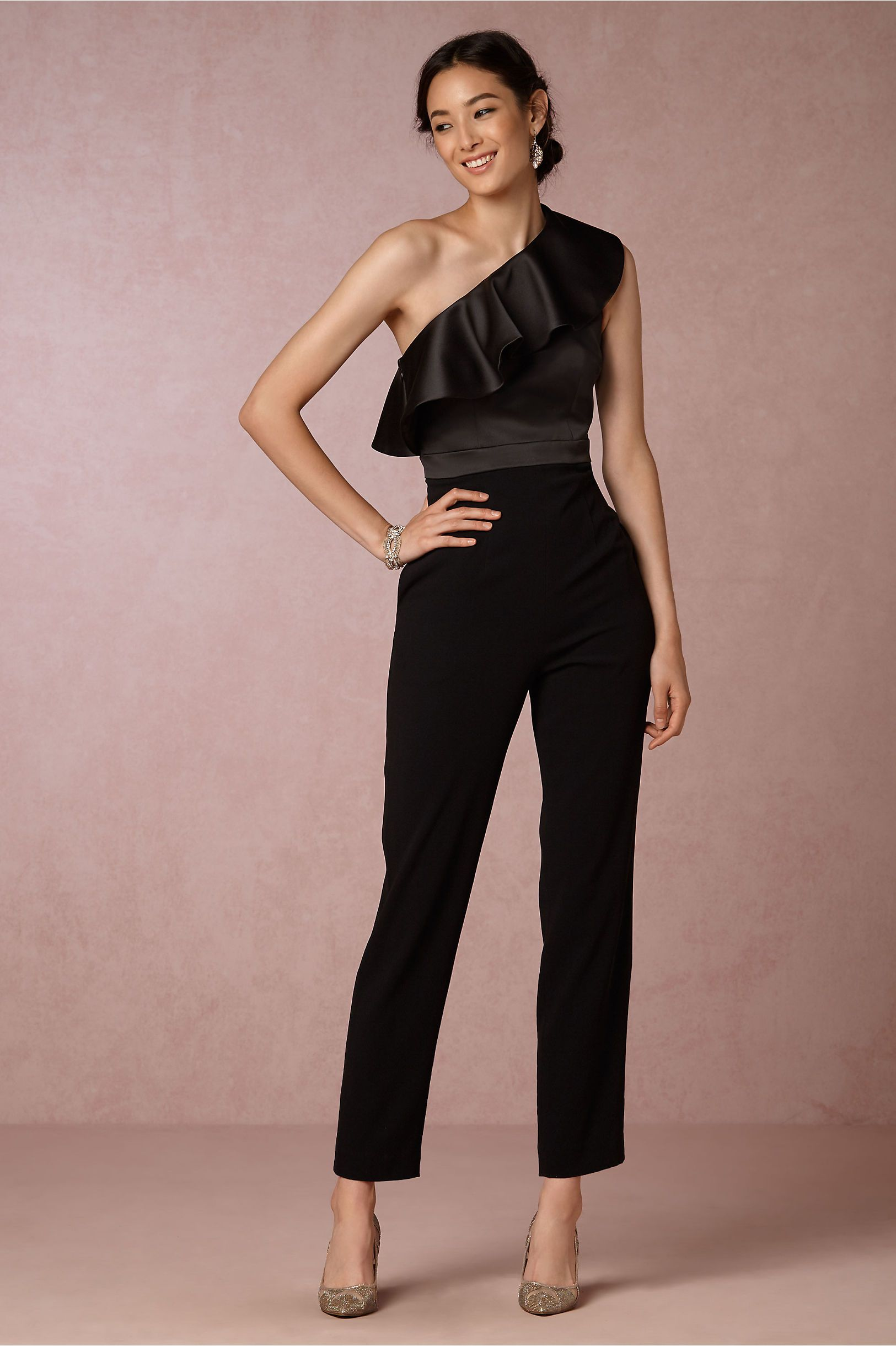 Lancey Jumpsuit from BHLDN New party dress, Black tie