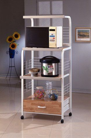 microwave kitchen utility shelf on casters http www rh pinterest com kitchen utility shelving Utility Trailer Shelving