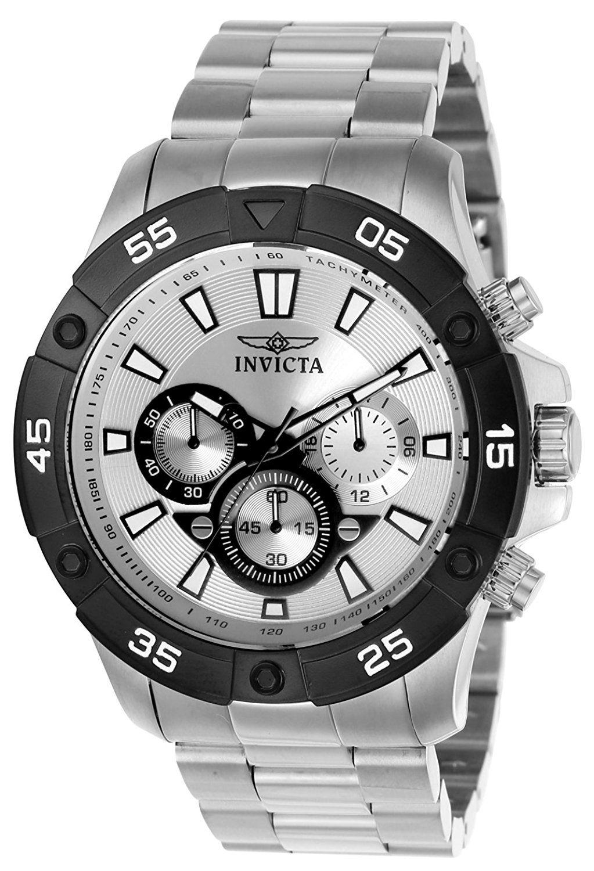 2045ef88c951 Invicta Pro Diver 22788 - Reloj de pulsera Cuarzo Hombre correa de Acero  inoxidable Plateado