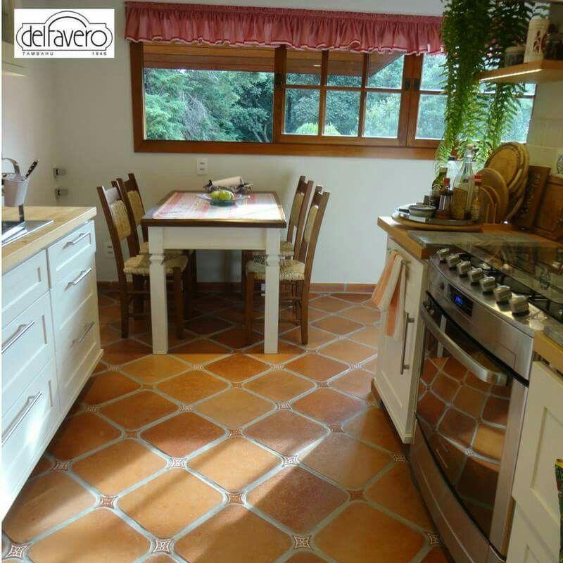 Adesivo De Herpes Labial ~ Posso colocar piso rústico na cozinha? Essa foto
