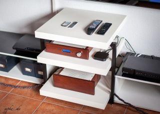 Hifi rack selbstbau  DIY Selbstbau Hifi Rack LACKsand - Fertig und Aufgestellt | HiFi ...