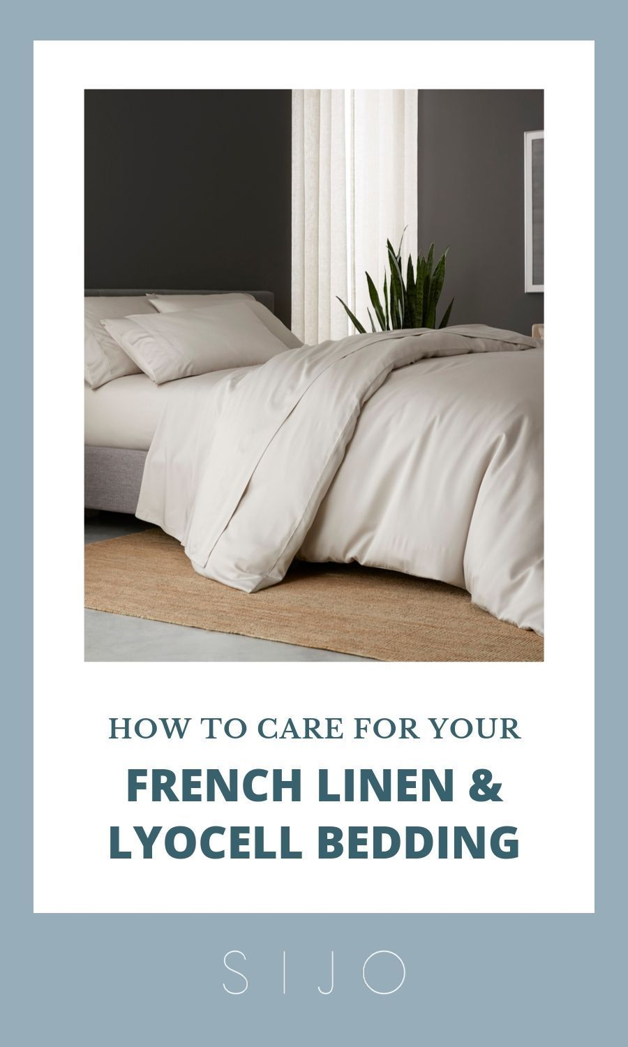 How To Care For Your Sijo Bedding Bed Make Your Bed Bedroom