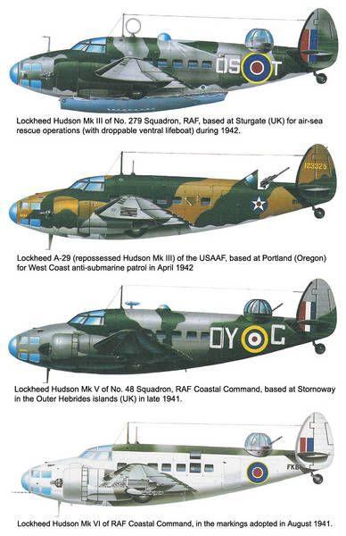 No. 59 Squadron RAF - Coastal Command - Lockheed Hudson Mk.III - VI
