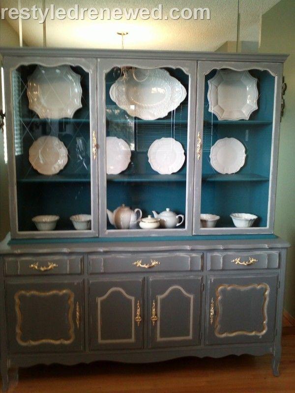 Aubusson Blue Chalk Paint Furniture