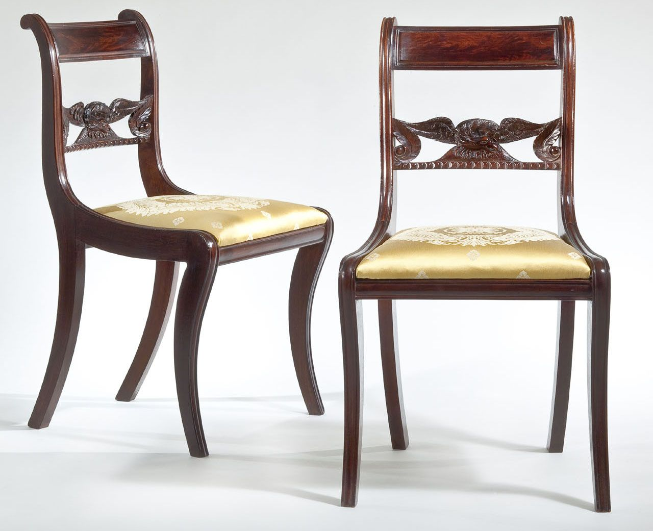 carswell Eagle Splat Side Chairs antique Pinterest