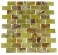 1x2 dark green onyx mosaic 4 kitchen backsplash shower walls and floor marble n things - Ubahn Fliese Backsplash Ideen