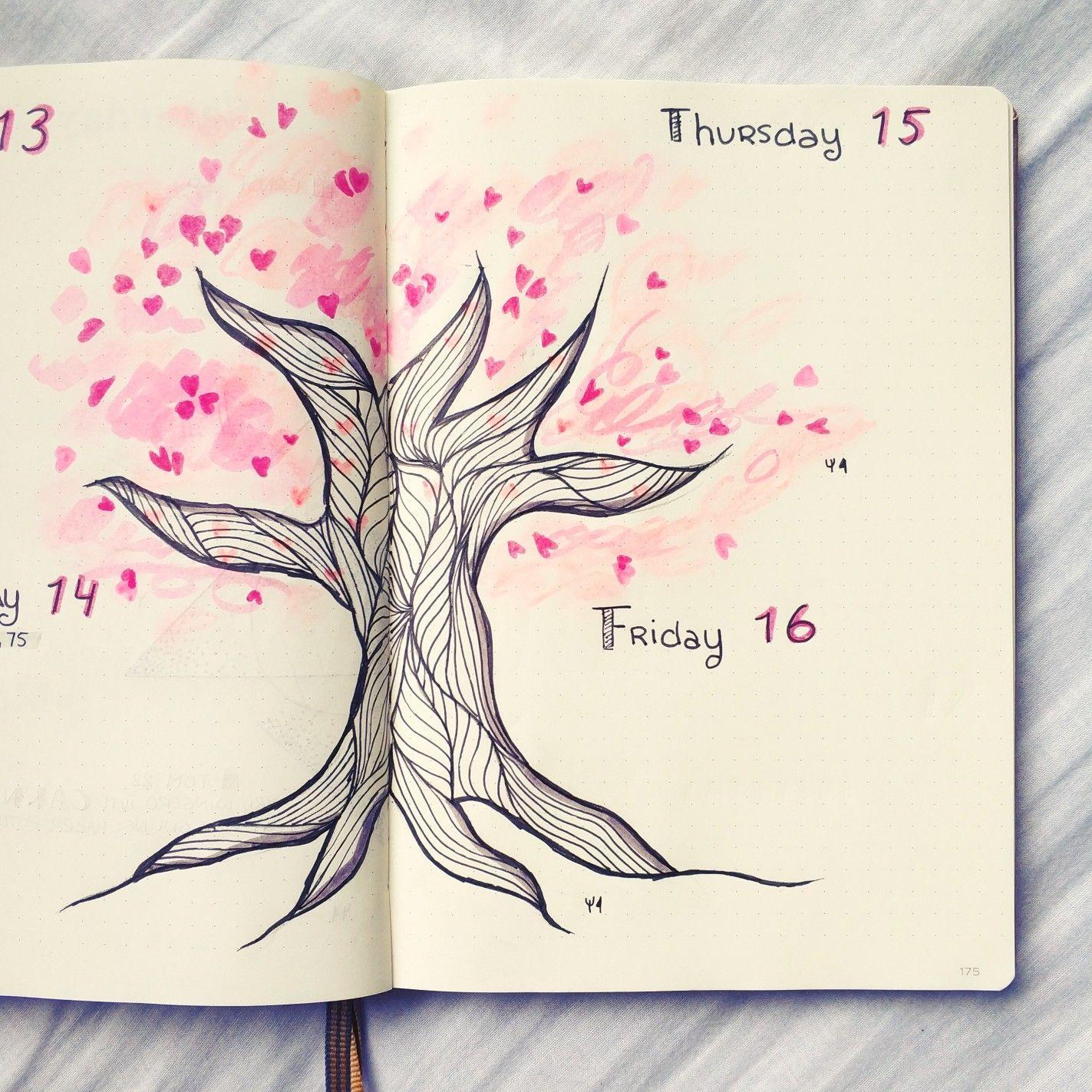 @bujo.by.marieke Bullet journal weekly layout Valentines ...